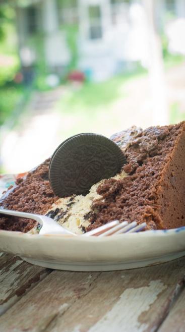 Devil's Food Oreo Cake