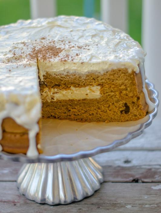 slice of the cake