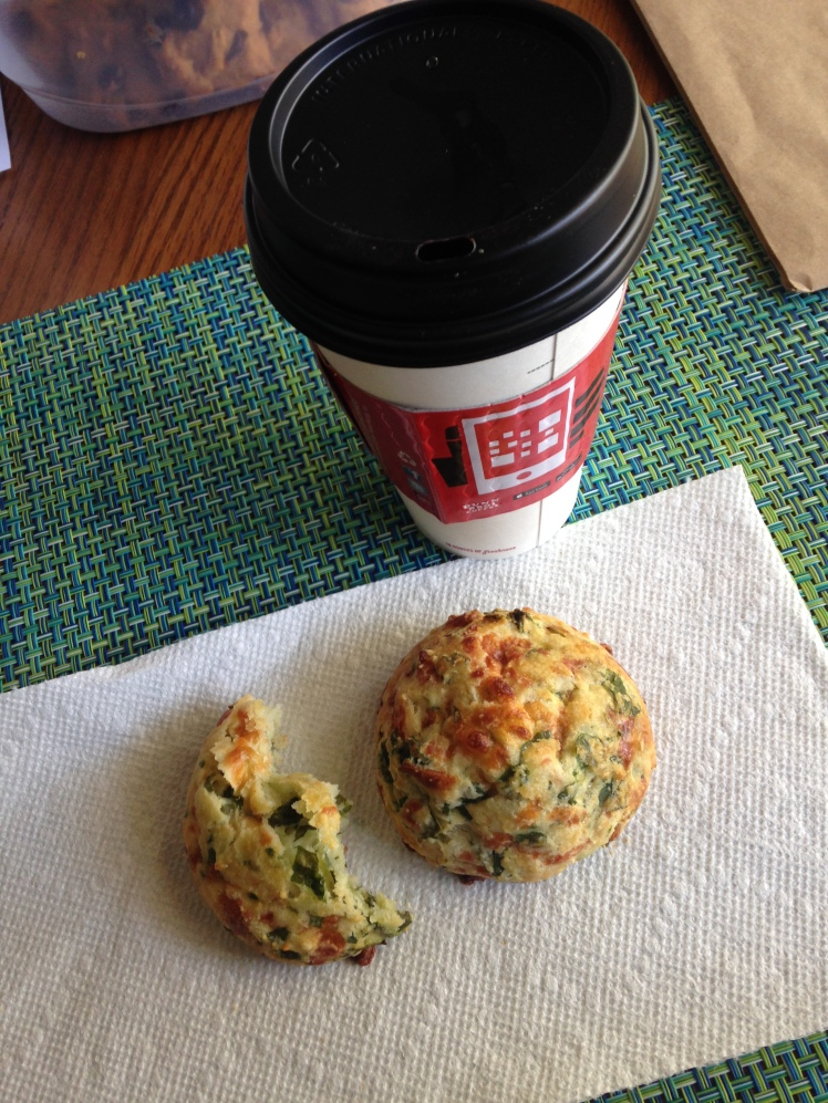 spinach scone