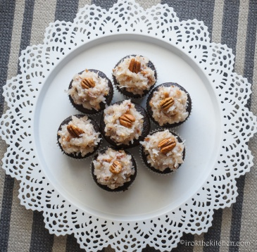 German Chocolate Cupcakes (Vegan)-14