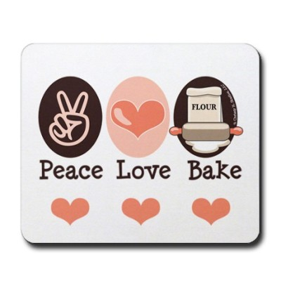 peace_love_bake_bakers_baking_mousepad