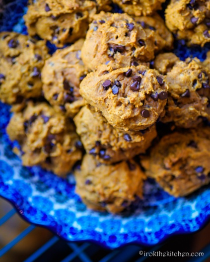 Pumpkin Chocolate Chip Cookies-11