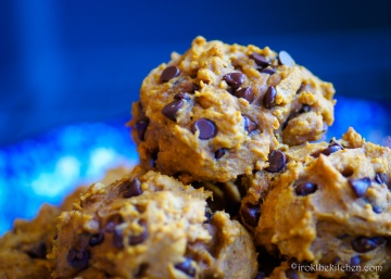 Pumpkin Chocolate Chip Cookies-13