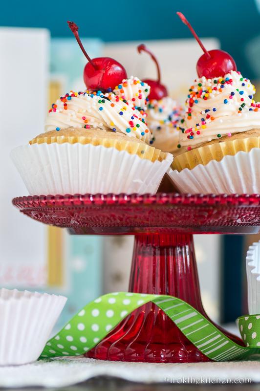 Banana Split Cupcakes-40