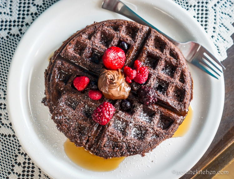 Brownie Waffles-3