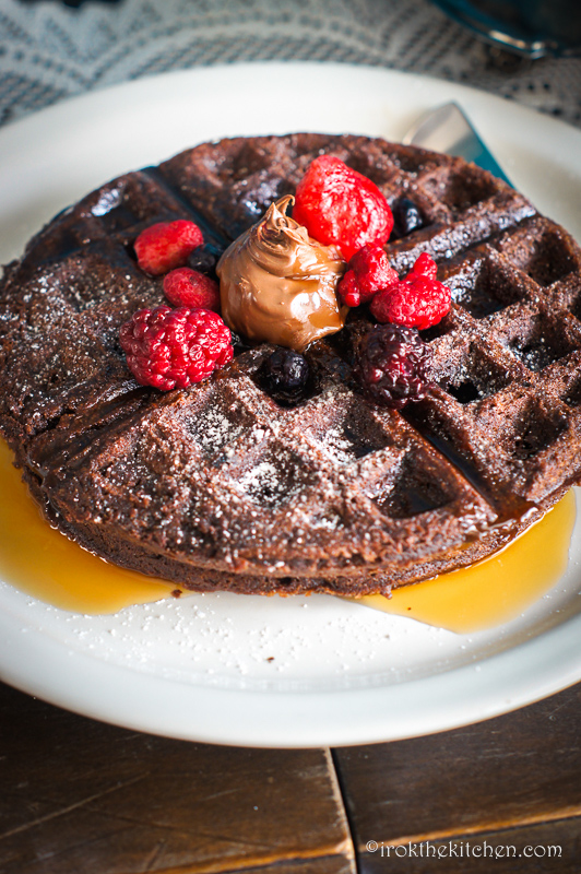 Brownie Waffles-5