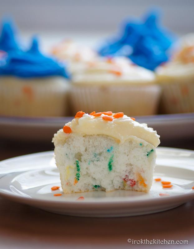 Superbowl Funfetti Cupcakes-11