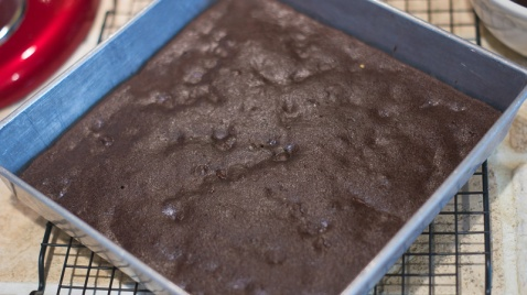 Unfrosted Zucchini Brownies