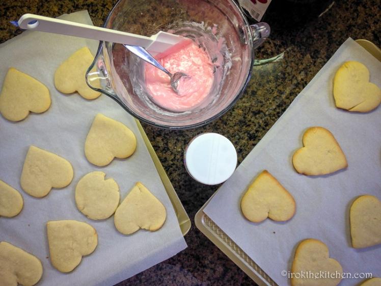 Valentine Sugar Cookies-5