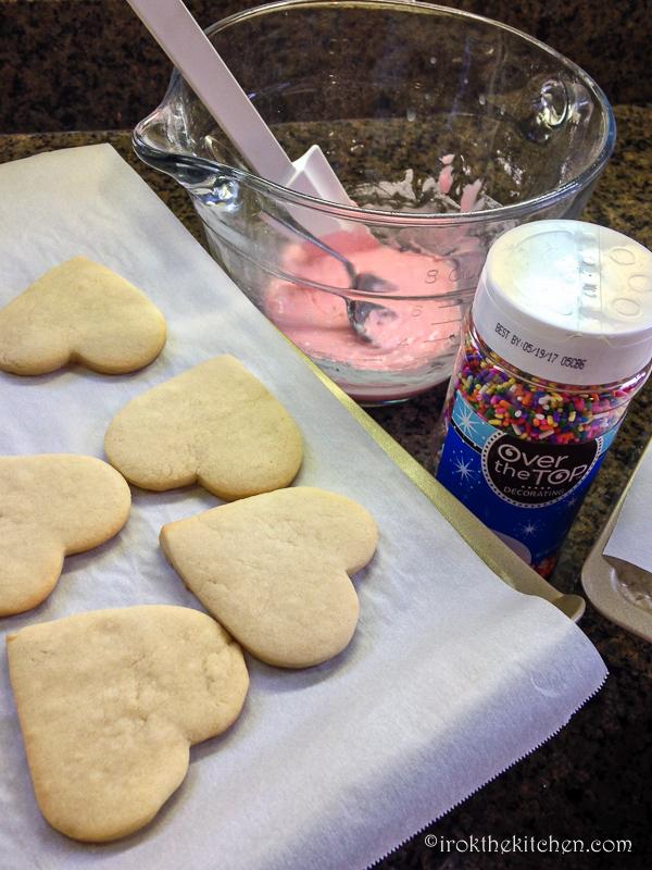 Valentine Sugar Cookies-6