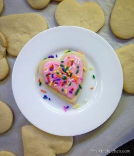 Valentine Sugar Cookies-7
