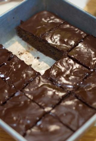 Zucchini Brownies 8