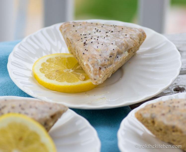 Lemon Poppyseed Scones-20