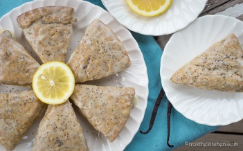 Lemon Poppyseed Scones-9