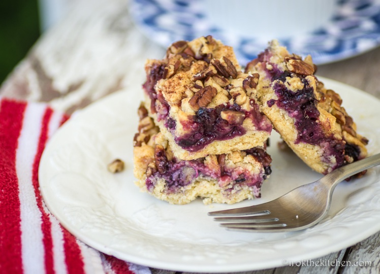 Berry Rhubarb Crumble Bars-8