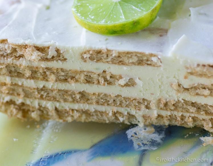 Keylime IceBox Cake-6