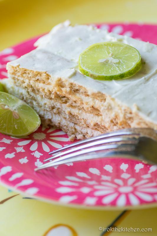 Keylime IceBox Cake-7