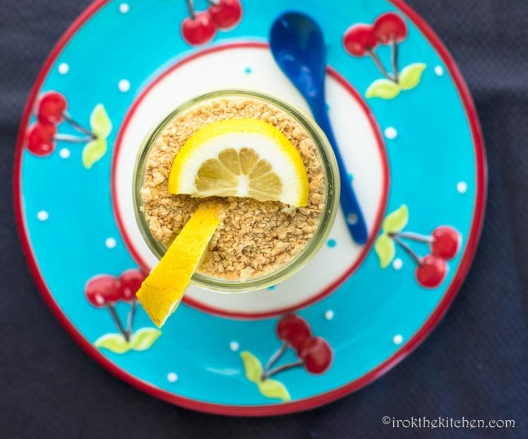 Lemon Pudding Cup-5