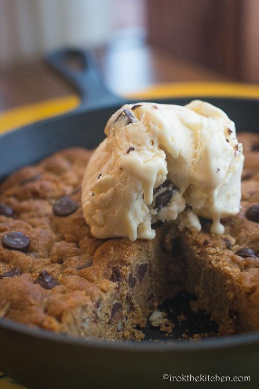 Skillet Cookie-12