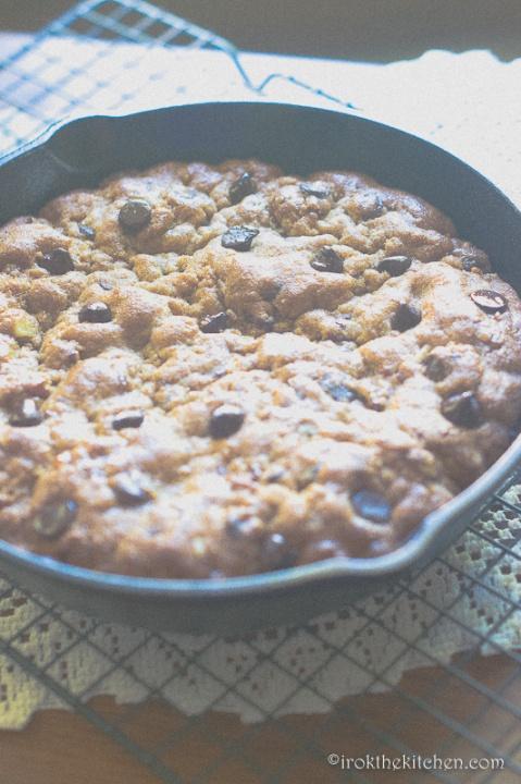 Skillet Cookie-4