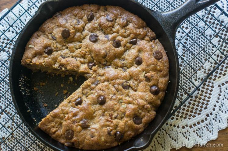 Skillet Cookie-8