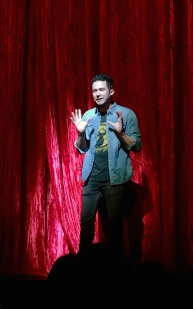 Cupcake Wars host, Justin Willman