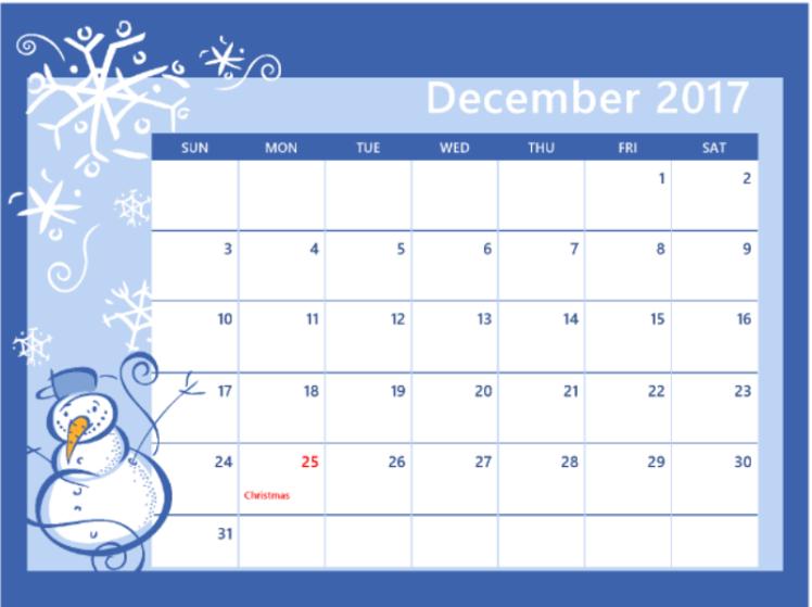 December-Calendar-2017-Printable